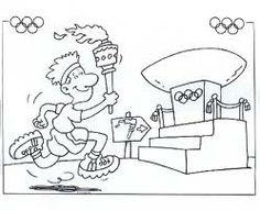 Afbeeldingsresultaat voor Olympische spelen tekening